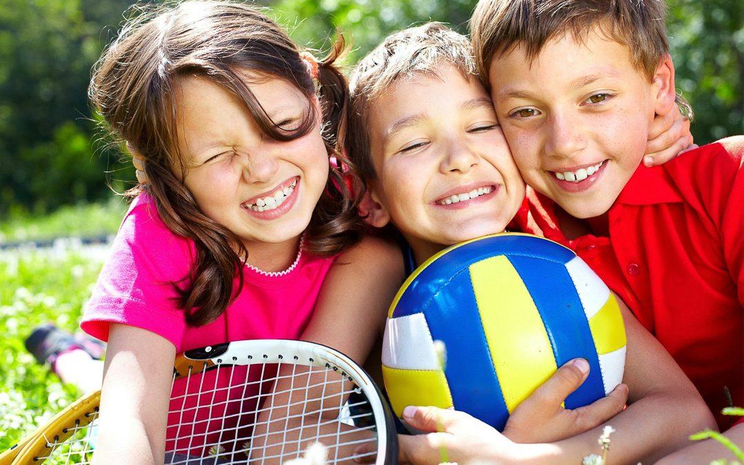 Attività sportiva dei bimbi